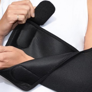 4dflexisport 174 Black Deluxe Anti Neckache Arm Sling Sports Supports Mobility Healthcare Products